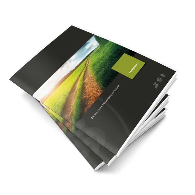 Broschüre für innovatives Agrarprodukt